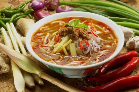 Asam Laksa - Authentic Penang Malaysia Assam Laksa Recipe