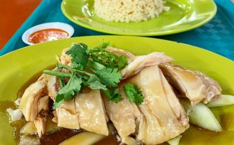 Hainanese Chicken Rice - Famous Singapore National Dishes