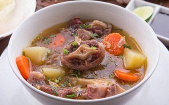 Sop Buntut - Indonesia's Famous Oxtail Soup Recipe