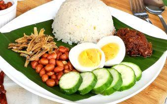 Nasi Lemak - Malaysian Coconut Milk Rice Recipe